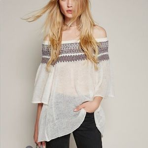 Free people Women lock lomand mohair blend sweater